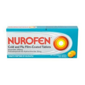 cold and flu tablet