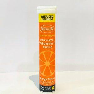 Effervescent Vitamin C Tabs